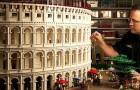 Questo artista dei Lego ha realizzato il Colosseo con 200.000 mattoncini colorati