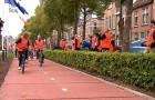 La première piste cyclable en plastique recyclé a été ouverte en Hollande : elle est résistante et 100% verte