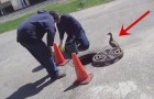 They could hear noises coming from the drain.. the rescue is amazing!