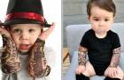 Dessa plagg med tatuerade armar kommer att få ditt barn att se ut som en riktig rockstjärna