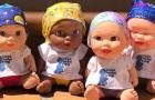 Estas muñecas con el foulard están ayudando a los niños enfermos de cáncer a encontrar la sonrisa
