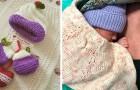 Questa associazione realizza capi all'uncinetto per coccolare i bimbi nati prematuri