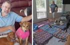 Dieser Mann eröffnete ein Tierheim, um ältere Hunde aufzunehmen, die kein Zuhause finden konnten