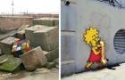 Diese 18 urbanen Werke zeigen, dass Kunst nicht immer nur in Museen zu finden ist