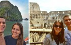 A newlywed couple decided to travel the world for 5 months instead of paying for a wedding