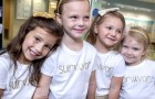 These four little girls who survived cancer meet 3 years later in the same hospital where they were treated