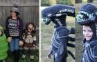 Questa mamma crea dei fantastici costumi di Halloween all'uncinetto per i suoi figli