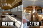 Deze vrouw verandert schoolbussen in kleine huizen om daklozen te helpen