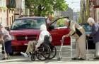 Wie würdet ihr reagieren, wenn euch so etwas Absurdes auf der Straße passieren würde?