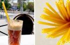 Stroodles: un'azienda inglese introduce le cannucce biodegradabili fatte di grano e acqua