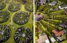Deze bijzondere tuinhuizen in Denemarken zijn ontworpen om ontspanning en sociale interactie te bevorderen