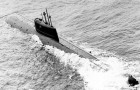 In Noorwegen geeft deze gezonken nucleaire onderzeeër 800.000 keer de standaard straling af