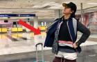 Esta mulher vestiu mais de 2 kg de roupas para não ter que pagar excesso de bagagem no aeroporto