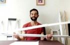 Questo studente ha ideato delle stampelle ortopediche di carta eco-compatibili ed economiche