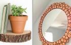 Dischi di legno: 12 modi per trasformarli in originali elementi d'arredo