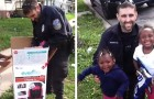 Instead of giving her a fine, this policeman gave a mother in difficulty two new car seats for her children