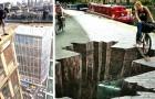 15 Meisterwerke der Straßenkunst, die mit Perspektive und optischen Illusionen spielen
