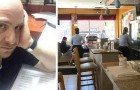 Despite customers' complaints, a restaurant owner decides not to ask a mother and her autistic child who is making a lot of noise to leave