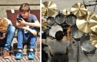 A 12 anni restituisce lo smartphone ai genitori per dedicare più tempo a suonare la batteria