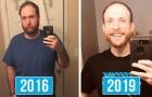 Cet homme arrête de boire et documente sur trois ans sa transformation radicale
