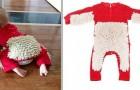 Een bedrijf heeft een speciaal babypakje gemaakt: wanneer ze kruipen, dweil je de vloer