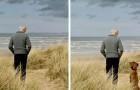 Die Werbekampagne dieses Unternehmens zeigt, wie sich das Leben vor und nach der Ankunft eines Hundes verändert