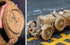 Questa donna giapponese crea delle sculture molto dettagliate utilizzando il cartone dei pacchi Amazon