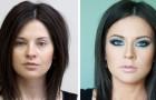 17 foto prima e dopo il trucco dimostrano come il make-up possa trasformare il volto di una persona