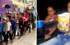 Les élèves de cette école pauvre vont au cinéma pour la première fois grâce à l'argent récolté par le professeur