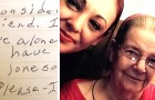 Dans une lettre déchirante, cette dame de 90 ans a demandé à une voisine inconnue de devenir son amie