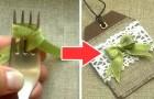 Con questo metodo semplice e veloce potrete creare fiocchi perfetti usando solo una forchetta