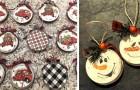 Decorazioni natalizie: 23 modi creativi per riciclare tappi e coperchi dei barattoli