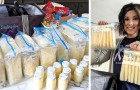 Depois de ter perdido seu filho, esta mãe decidiu doar o seu leite materno para as crianças em dificuldade