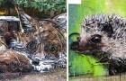Questo ragazzo trasforma la spazzatura in affascinanti animali per sensibilizzare sull'inquinamento