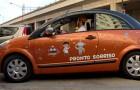 Pescara: arriva il primo taxi-clown che accompagna i più piccoli all'ospedale donando sorrisi e allegria