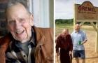 A los 98 años usa los ahorros de una vida para abrir un santuario para las especies animales