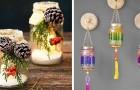 19 idee fantasiose ed economiche per riutilizzare i barattoli di vetro, a Natale e non solo