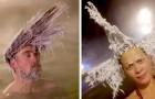 Au Canada, il fait si froid qu'il existe un concours de cheveux gelés les plus extravagants et originaux