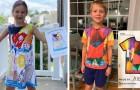 Questa azienda realizza vestitini direttamente dai disegni dei più piccoli