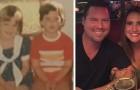 Se conocen en un sitio online y cuando se encuentran descubren de haber sido novios hace 30 años