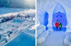 Snowlandia: in Polen is er een sneeuwdoolhof dat zo groot is als 10 tennisbanen