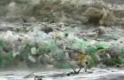 In Zuid-Afrika is een golf van plastic flessen gearriveerd: de zee smeekt om gered te worden