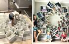 De här föräldrarna skapade en unik och orginell bokhylla till sina barn