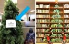 27 fra i più creativi e incredibili alberi di Natale immortalati in giro per il mondo