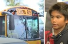 El chofer del autobús había bebido: un niño siente el olor del alcohol y llama a la policía, evitando una posible tragedia
