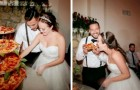 Este casal de noivos decidiu oferecer uma