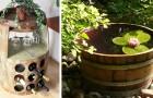 10 brillanti idee per trasformare le botti di legno in meravigliosi complementi d'arredo