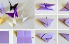 Origami: ecco come piegare la carta per creare delle bellissime farfalle