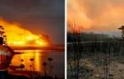 Diese Aufnahmen aus Australien konfrontieren uns mit all den schrecklichen Verwüstungen, die die Brände verursacht haben