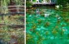 Monet's Rosenteich: der wunderbare japanische Teich, der aus dem Gemälde eines impressionistischen Malers zu kommen scheint